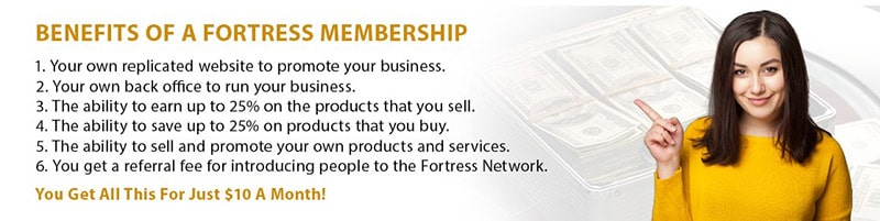 Is Fortress Network a Scam - Products
