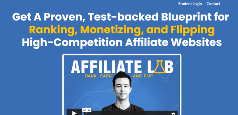 What Is Affiliate Lab - Landing Page