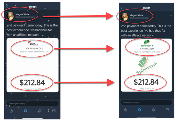 What Is CashMiracle - Fake Payment Proofs