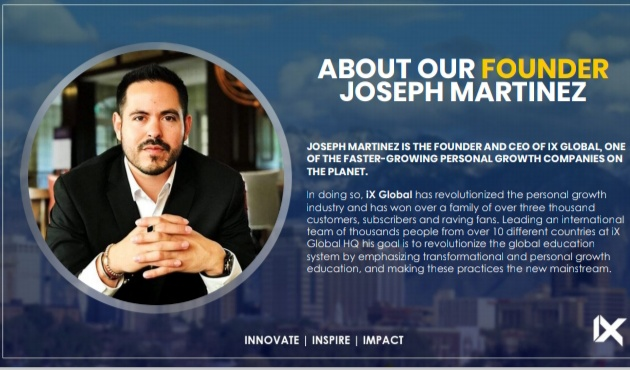 What is IX Global - Founder