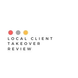 What Is Local Client Takeover Image Summary